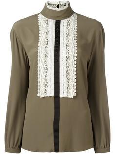 блузка с кружевной вставкой 8pm
