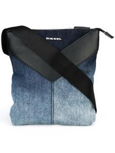 сумка-мессенджер с эффектом деграде Diesel