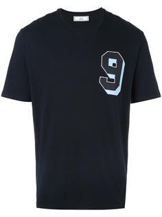 футболка с заплаткой '9' Ami Alexandre Mattiussi