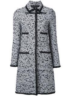 длинное твидовое пальто Giambattista Valli