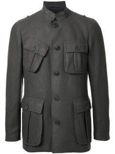 пиджак на пуговицах с воротником-стойкой Wooster + Lardini