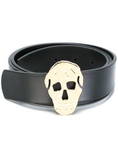 ремень с бляшкой в виде черепа Alexander McQueen