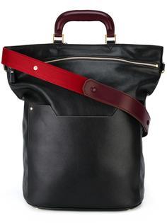 сумка-шоппер со съемной лямкой Anya Hindmarch