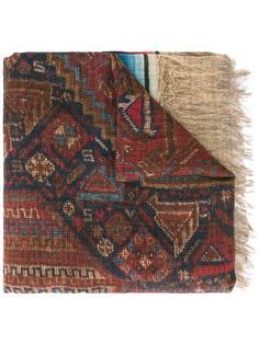 шарф с бахромой Pierre-Louis Mascia