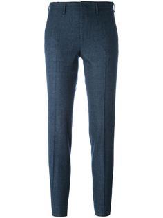 укороченные брюки кроя слим Pt01