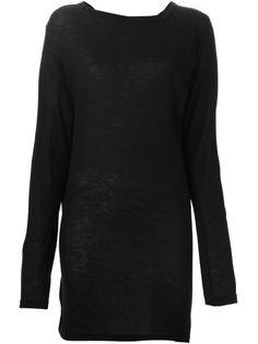 удлиненный свитер Ann Demeulemeester