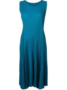 pleated sleeveless dress Pleats Please By Issey Miyake
