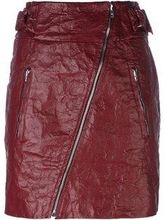 юбка с диагональной молнией Isabel Marant