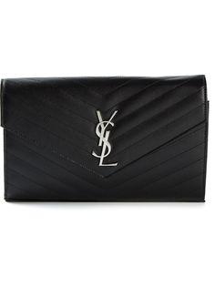 сумка 'Monogram' на плечо Saint Laurent