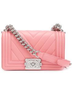 сумка на плечо с узором шеврон Chanel Vintage