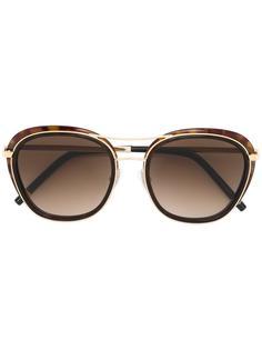 солнцезащитные очки с массивной оправой Boucheron