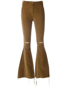 расклешенные брюки Forte Couture