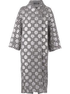 пальто с узором в горох Dolce & Gabbana