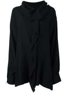 объемная рубашка с оборками Y's