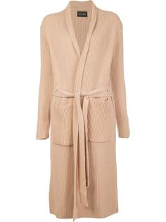 long robe-effect cardigan Baja East