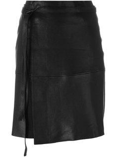 юбка мини с запахом Isabel Marant