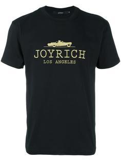 футболка с вышивкой логотипа Joyrich