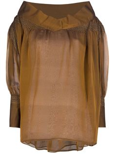 свободная блузка  Gianfranco Ferre Vintage