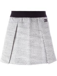 юбка с узором в елочку Adidas