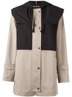 пальто с капюшоном на пуговицах  Sonia By Sonia Rykiel