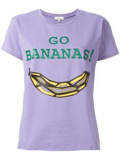 футболка с принтом 'go bananas'  Natasha Zinko