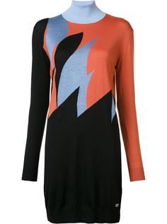 вязаное платье-водолазка Vionnet