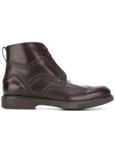 ботинки на шнуровке Salvatore Ferragamo