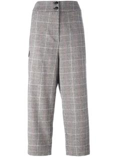 plaid cropped trousers I'M Isola Marras