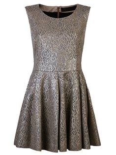 А-образное платье без рукавов с узором  Drome