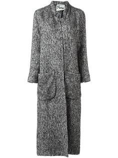 пальто с V-образным вырезом 8pm