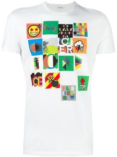 футболка с принтом Iceberg