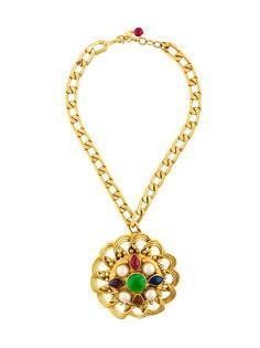 чокер с медальоном Chanel Vintage