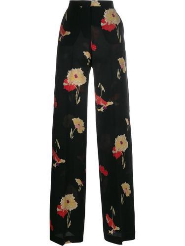 брюки с цветочным рисунком Etro
