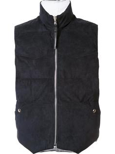 zipped vest  Michael Bastian