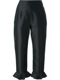 брюки с рюшами по подоле Isa Arfen
