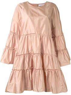 широкое расклешенное платье Chloé