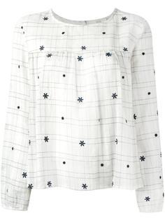 блузка шифт с рукавами три четверти Vanessa Bruno Athé