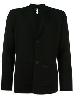 buttoned blazer  Bark