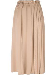 удлиненная плиссированная юбка Nº21