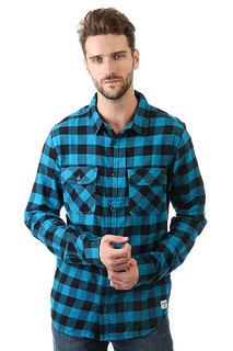 Рубашка в клетку Billabong All Day Flannel Ocean