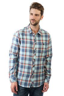 Рубашка в клетку Billabong Vantage Blue