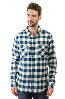 Рубашка в клетку Billabong All Day Flannel Off White