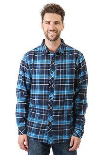 Рубашка в клетку Billabong Henderson Indigo