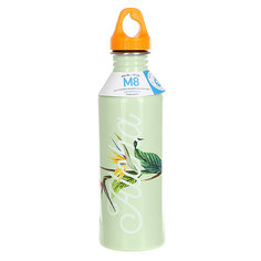 Бутылка для воды Mizu M8 Aloha Glossy Mint W Lt Orange Loop Cap