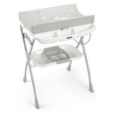 Пеленальный столик Volare, Зайка, Cam, серый/белый