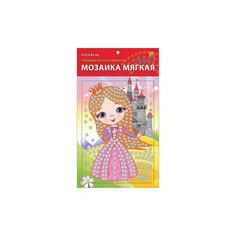 """Мягкая мозаика """"Принцесса"""" формат А5 (21х15 см) Издательство Рыжий кот"""