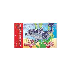 """Мягкая мозаика """"Дельфин"""" формат А5 (21х15 см) Издательство Рыжий кот"""