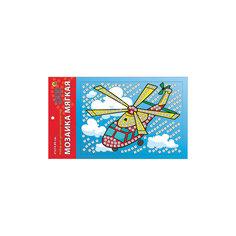"""Мягкая мозаика """"Весёлый вертолёт"""" формат А5 (21х15 см) Издательство Рыжий кот"""
