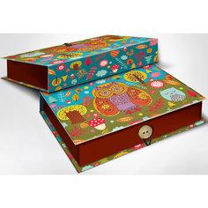"Подарочная шкатулка-коробка ""СОВУШКИ S"", 18*12*5, Феникс-Презент"