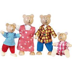 """Куклы """"Семья медведей"""", GOKI"""